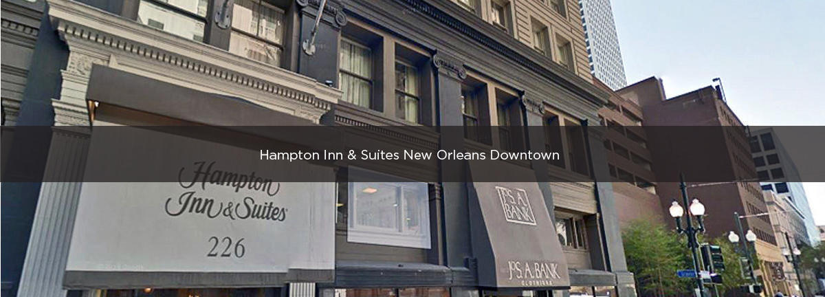 Hampton Inn & Suites New Orleans Downtown (French Quarter)