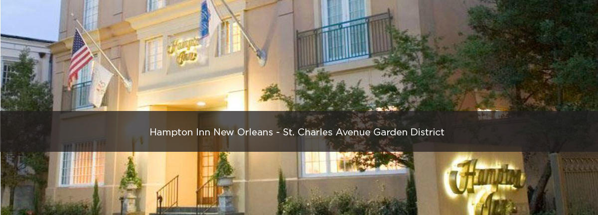 Hampton Inn New Orleans St Charles Avenue Garden District Premium Parking