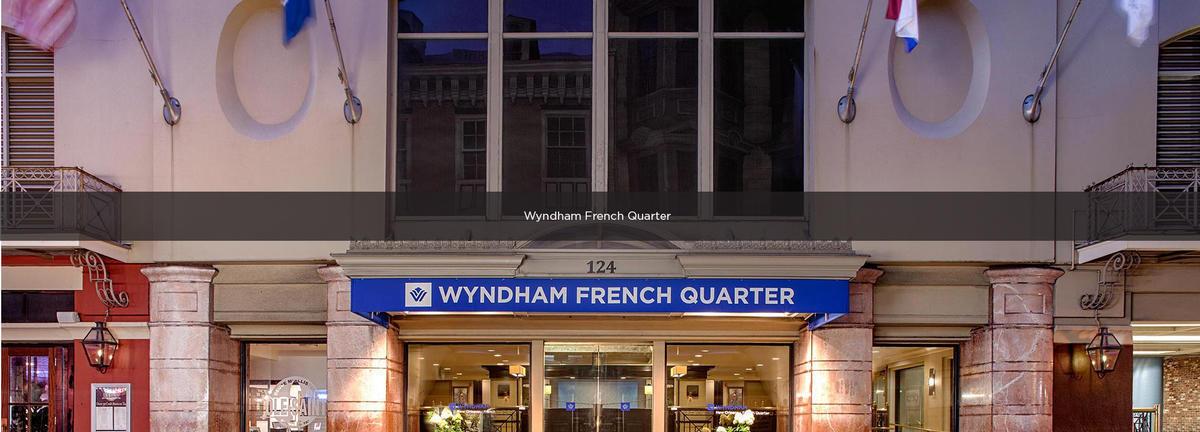 Wyndham New Orleans French Quarter Premium Parking