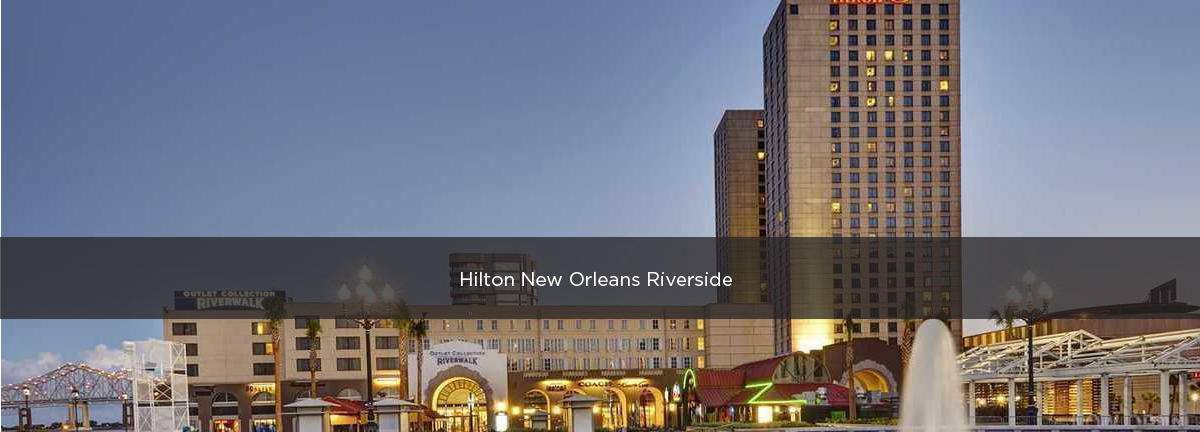 Hilton New Orleans Riverside Premium Parking