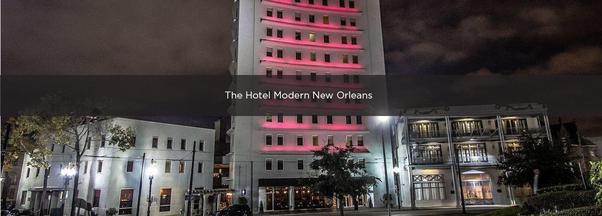 The Hotel Modern New Orleans Premium Parking