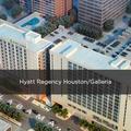 the Hyatt Regency Galleria
